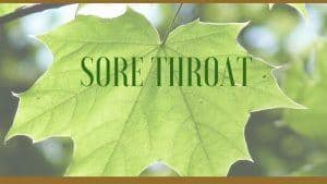 sore throat herbs