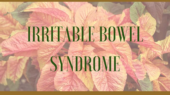 irritable bowel syndrome remedies