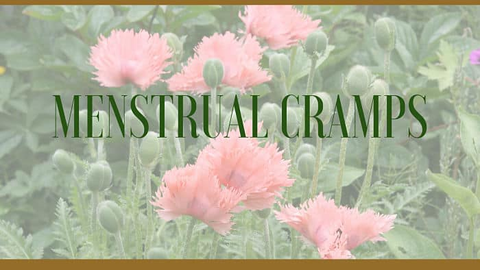menstrual cramps remedies
