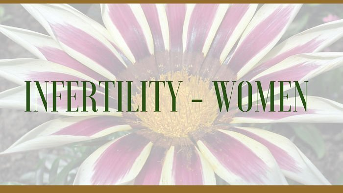 infertility herbs women